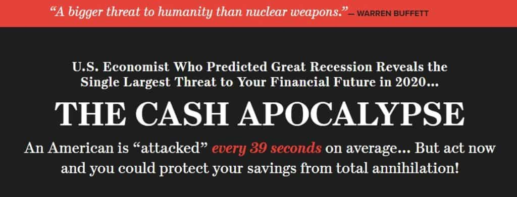The Cash Apocalypse by Harry Dent