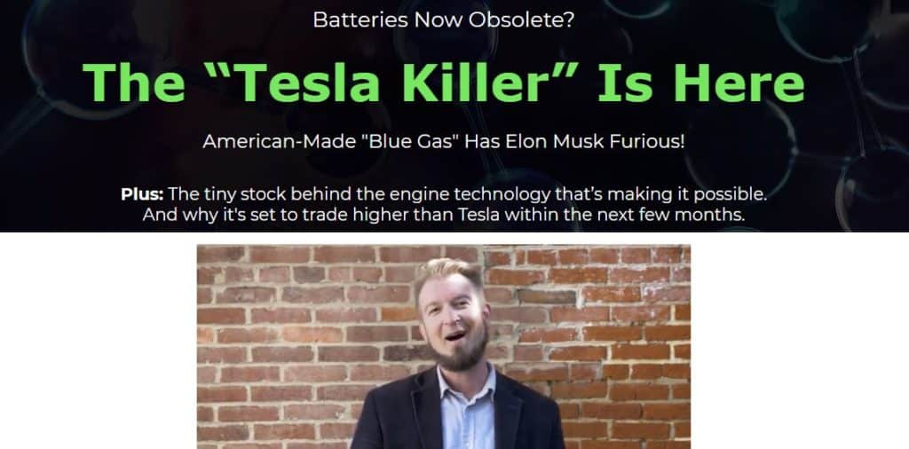 jimmy mengel tesla killer blue gas