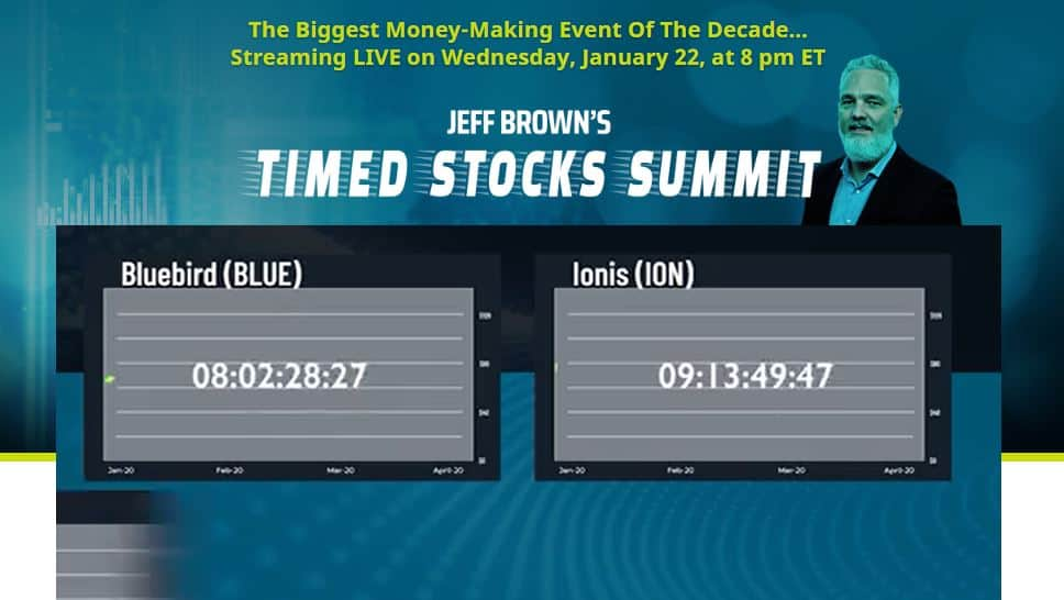 Timed Stocks Summit by Jeff Brown