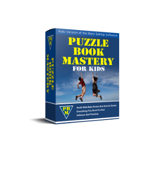 Kids Puzzle Book Mastery