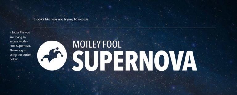 Motley Fool Supernova
