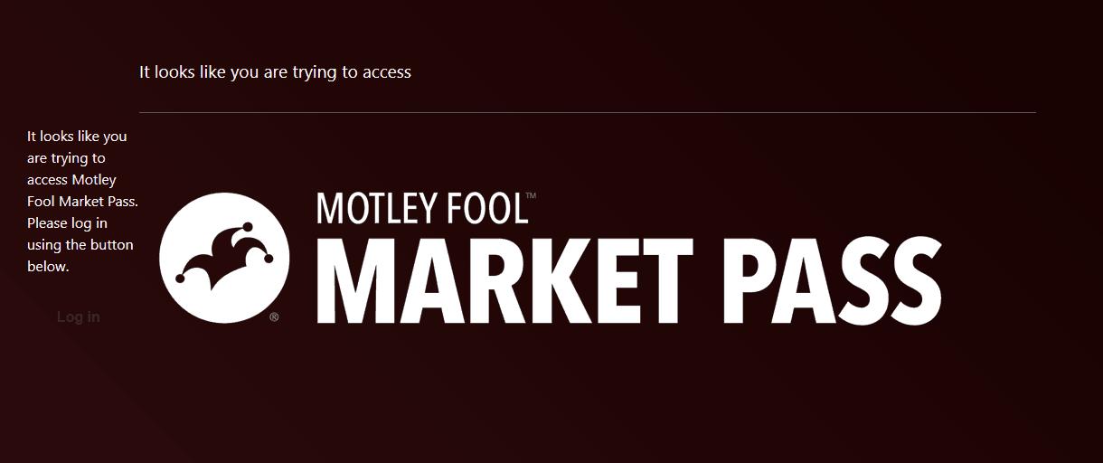 Motley Fool Market Pass