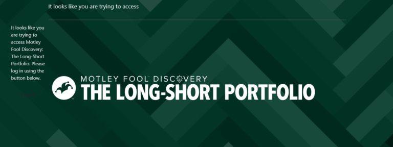 Motley Fool Long Short Portfolio