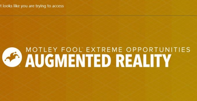 Motley Fool Augmented Reality