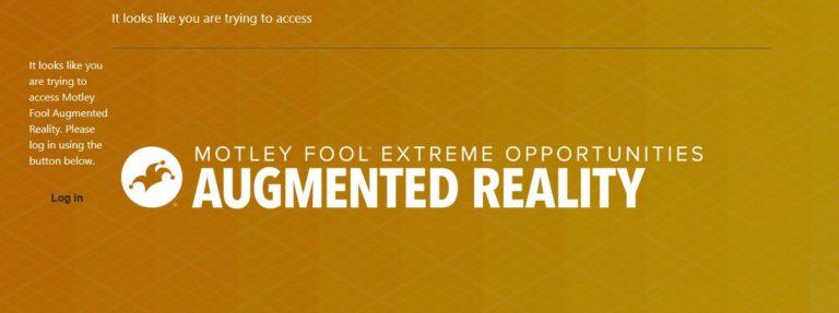 Motley Fool Augmented Reality