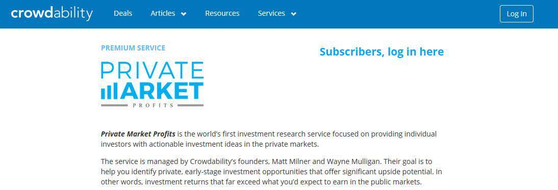 Private Market Profits