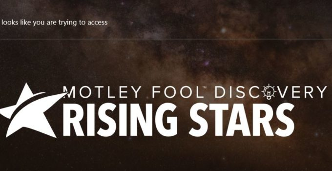 Motley Fool Rising Stars
