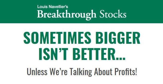 Louis Navellier's Breakthrough Stocks