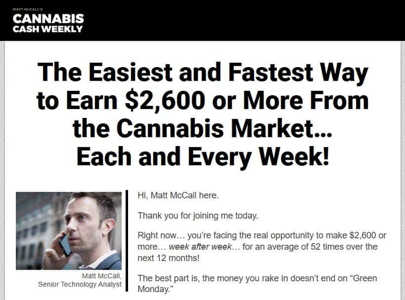 Cannabis Cash Weekly
