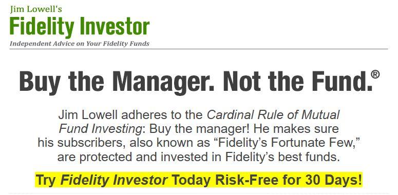 Jim Lowell's Fidelity Investor