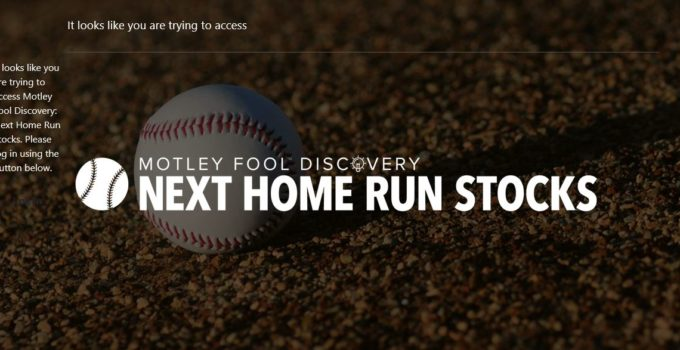 Motley Fool Next Home Run Stocks