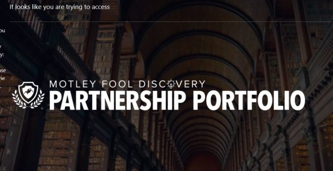 Motley Fool Partnership Portfolio