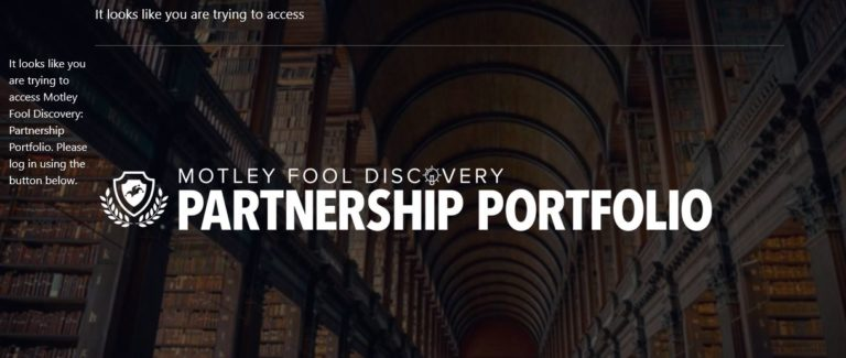 Motley Fool Partnership Portfolio