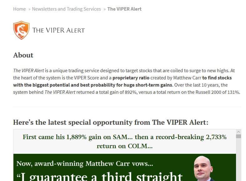 VIPER Alert