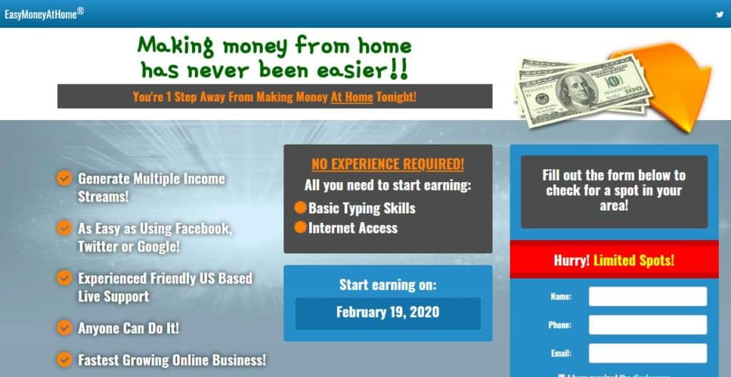 Easy Money At Home (EasyMoneyAtHome)
