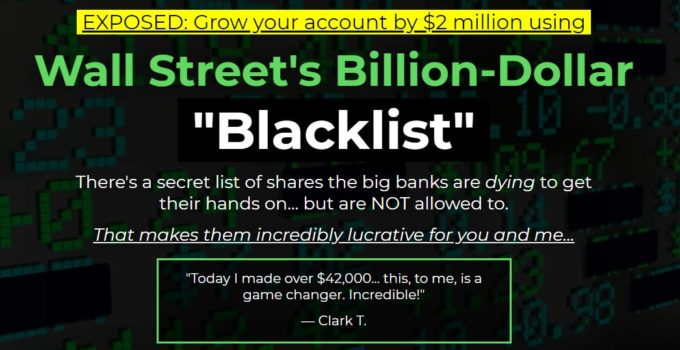 Wall Street's Billion-Dollar Blacklist by Alex Koyfman