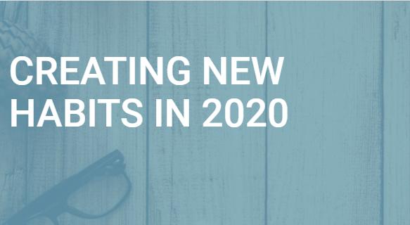 Create New Habits in 2020