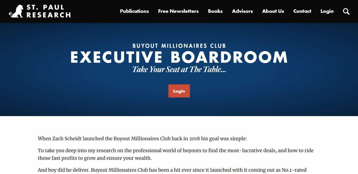 The Executive Boardroom