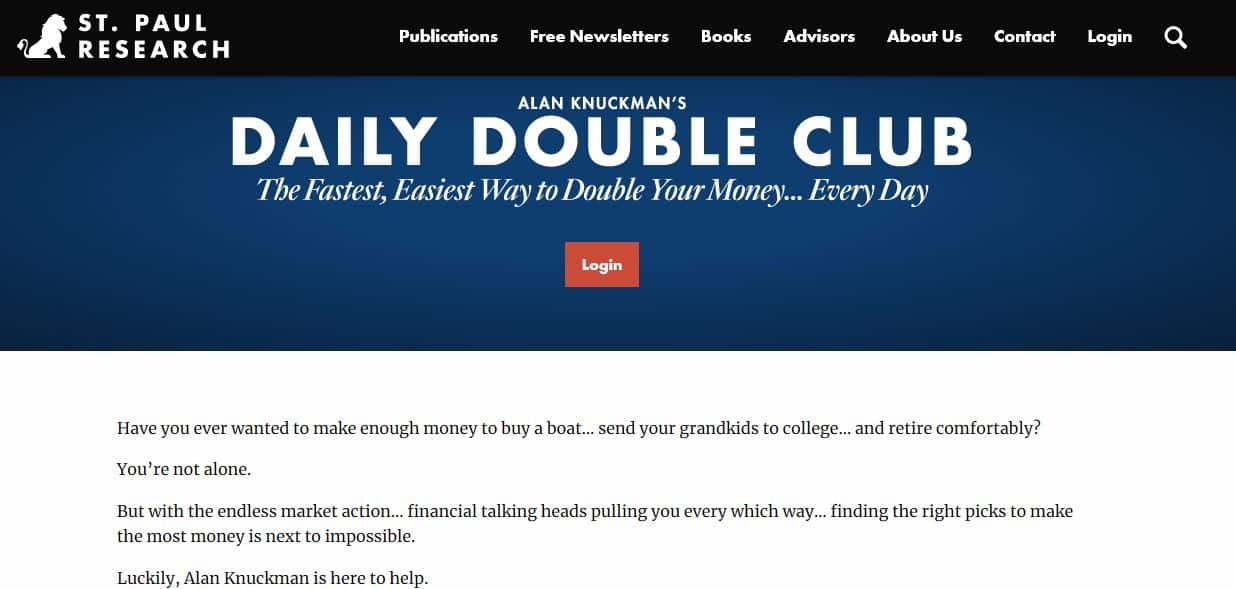 Daily Double Club
