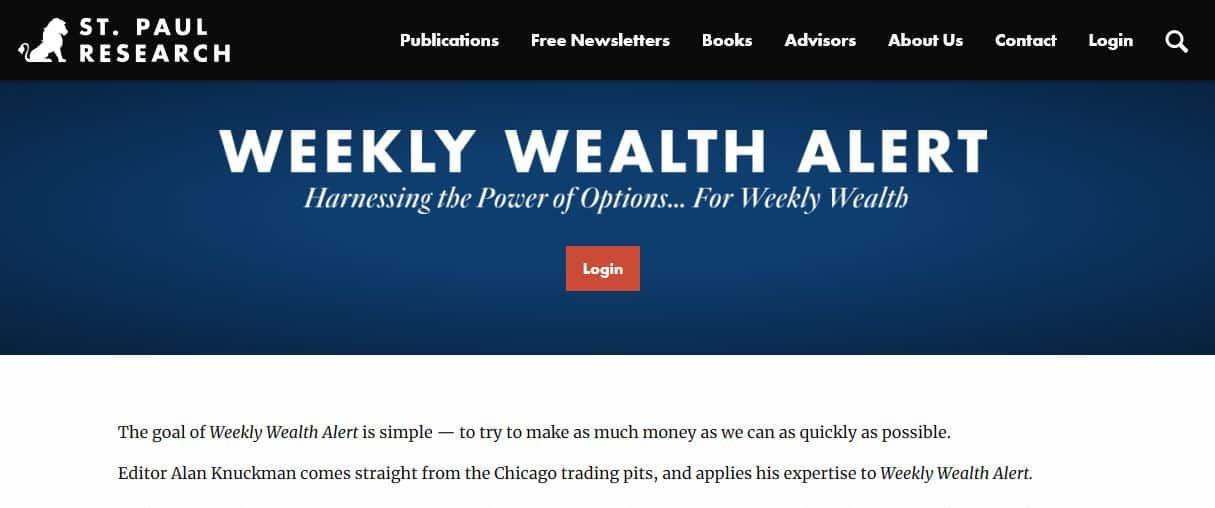 Weekly Wealth Alert