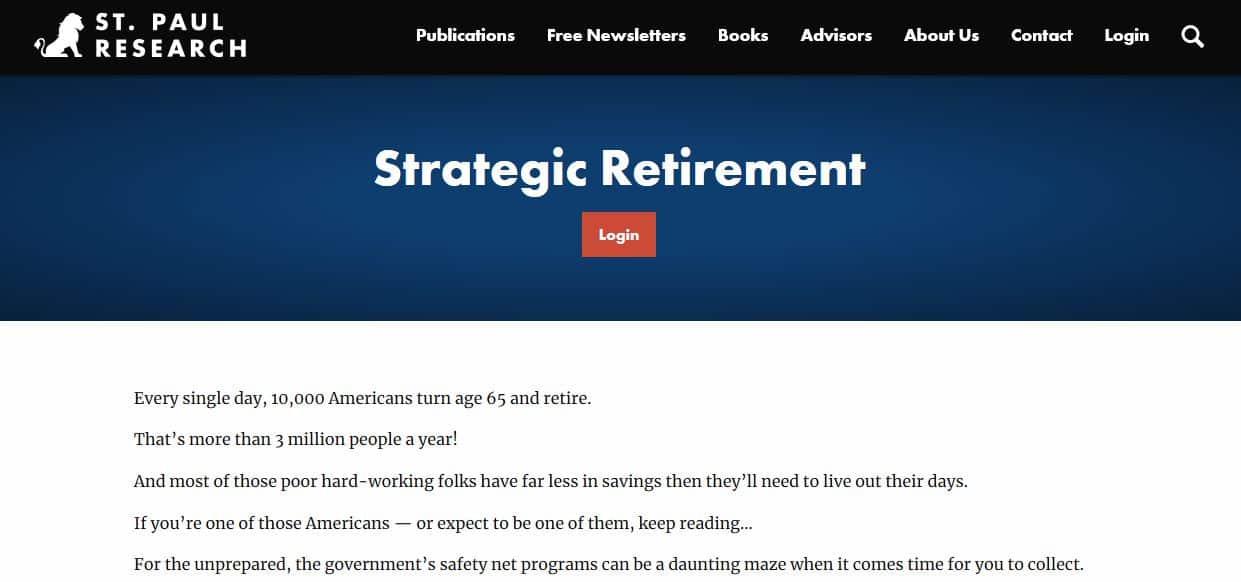 Strategic Retirement