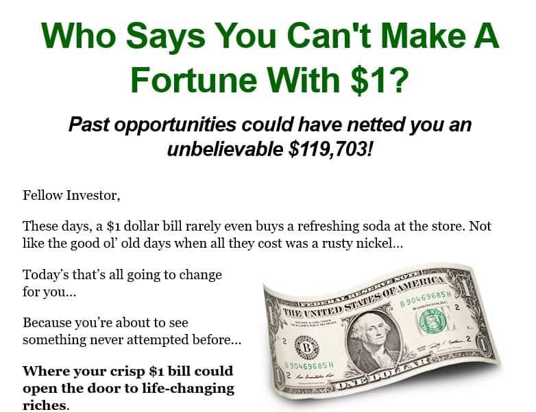 The Dollar Wealth Club