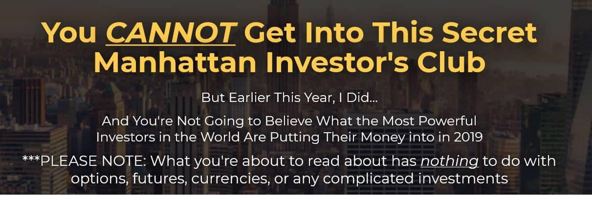 Secret Manhattan Investors Club