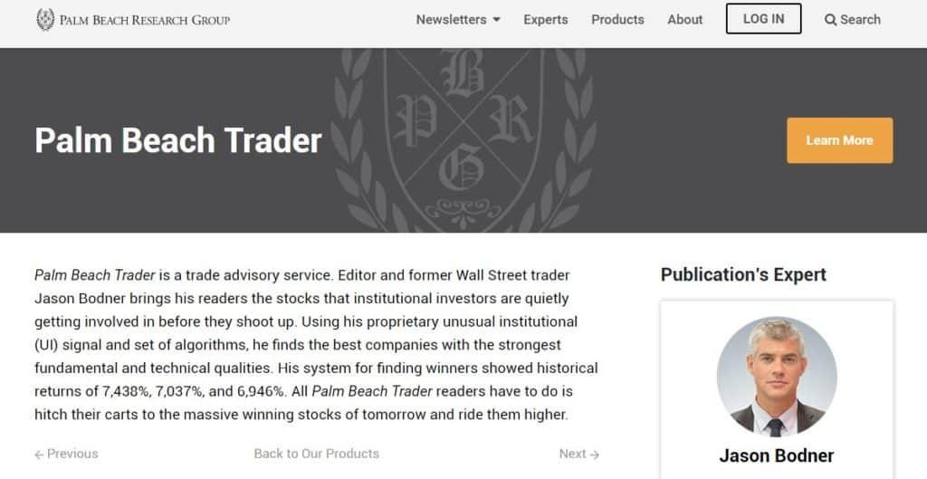Palm Beach Trader review