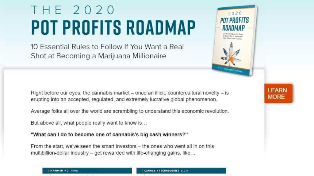 The 2020 Pot Profits Roadmap (National Institute for Cannabis Investors)