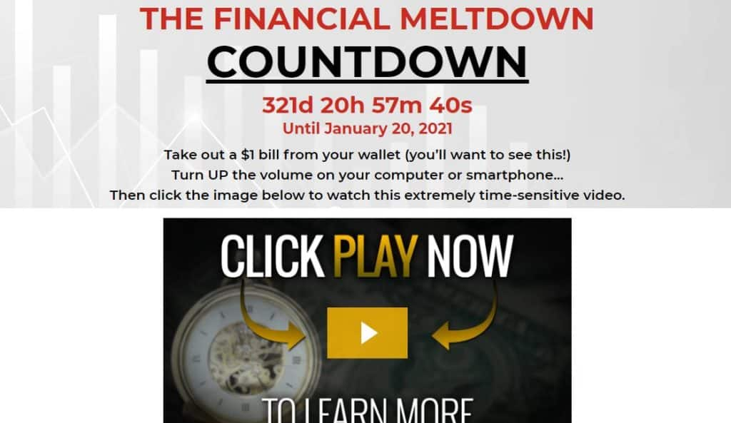 The Financial Meltdown Countdown by Nick Hodge