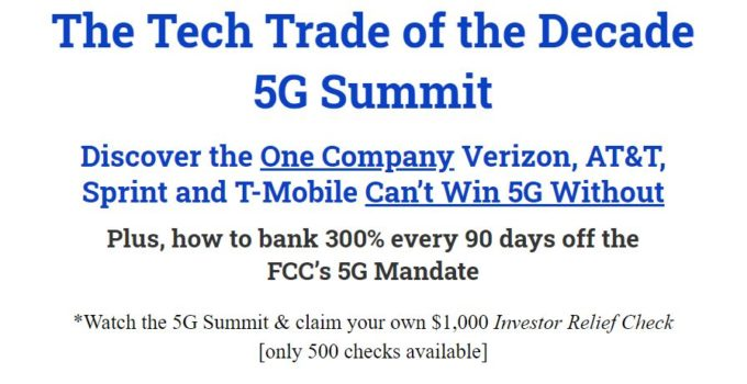 The Tech Trade Of The Decade 5G Summit Review