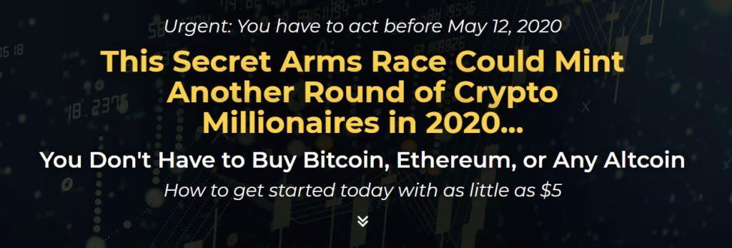 This Secret Arms Race Could Mint Another Round of Crypto Millionaires in 2020