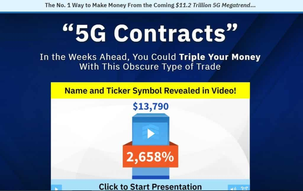 5G Contracts by Dave Fessler
