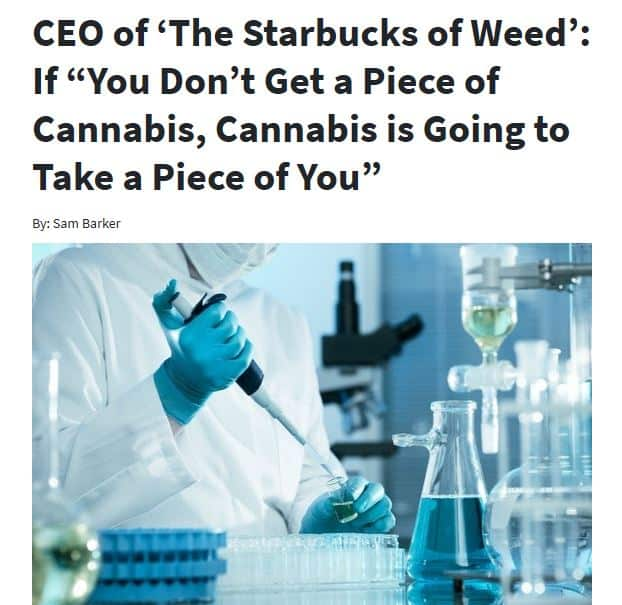 Motley Fool The Starbucks Of Weed