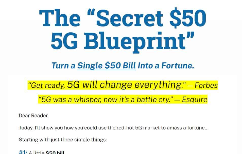 """Secret $50 5G Blueprint"" [Unbiased Review] 11"
