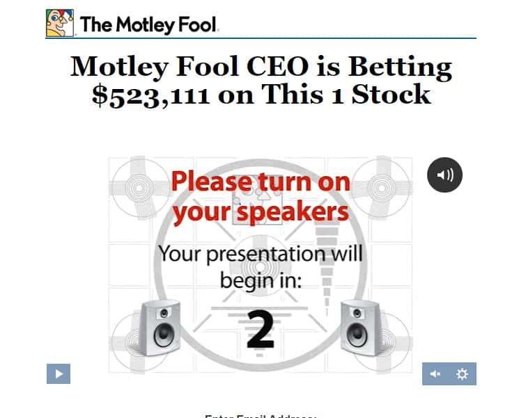 Motley Fool CEO is Betting $523,111 on This 1 Stock