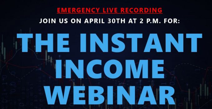 """""""Instant Income Webinar"""" [Unbiased Review] 11"""