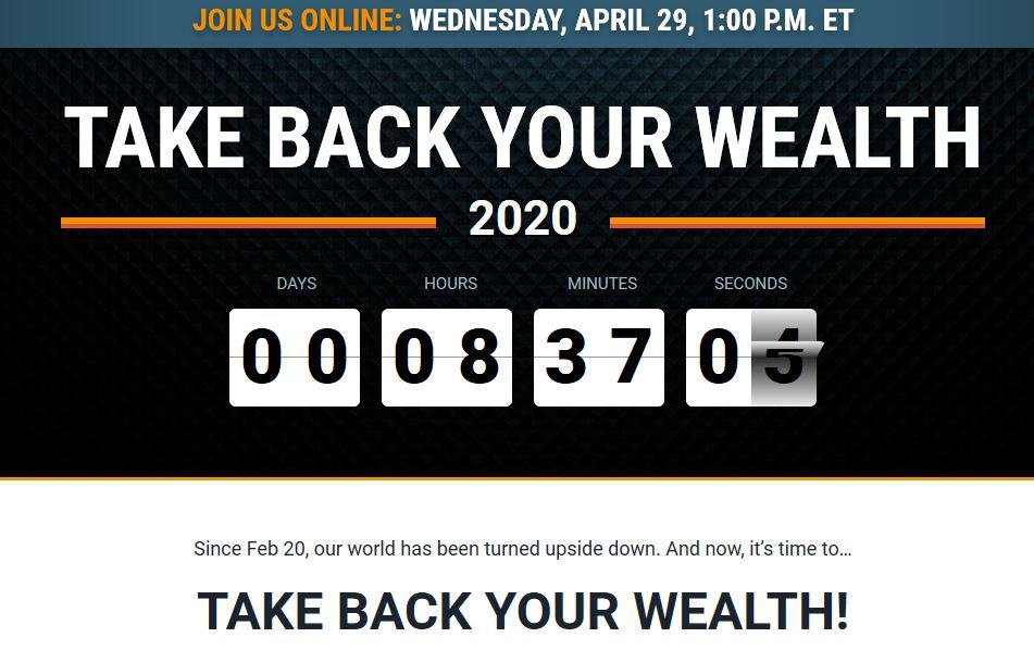 Take Back Your Wealth 2020