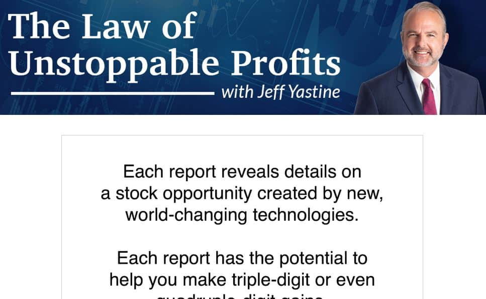 The Law Of Unstoppable Profits