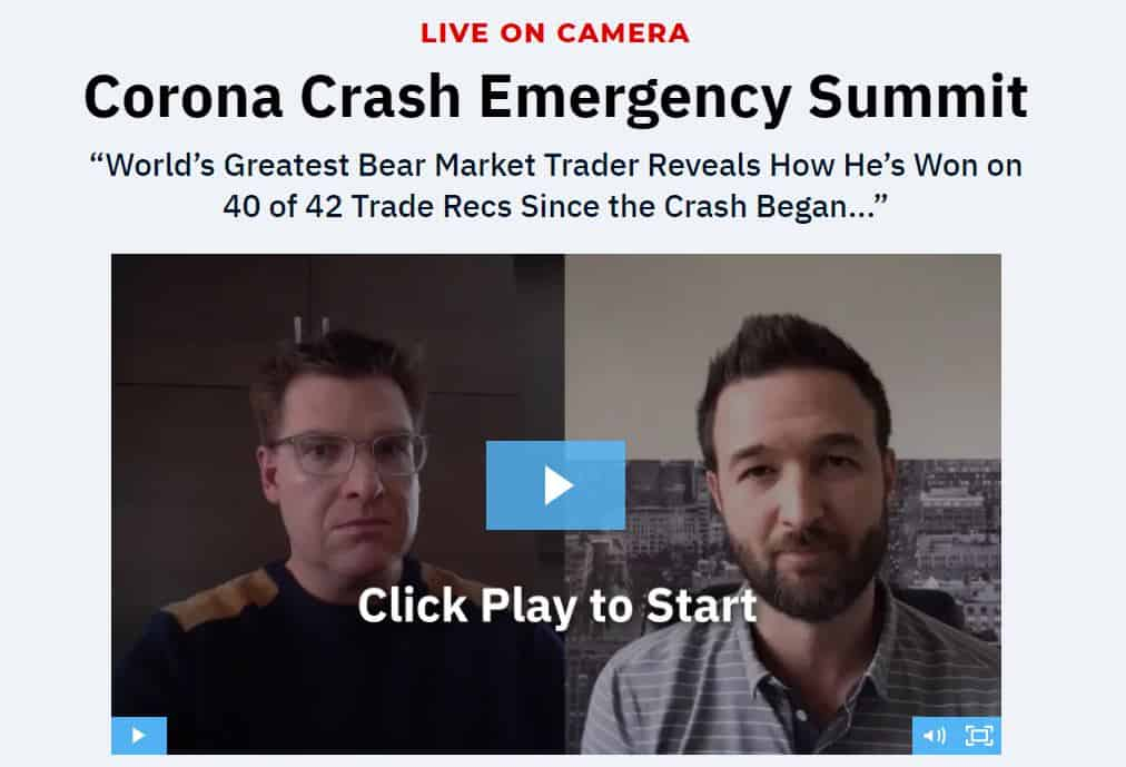 Corona Crash Emergency Summit