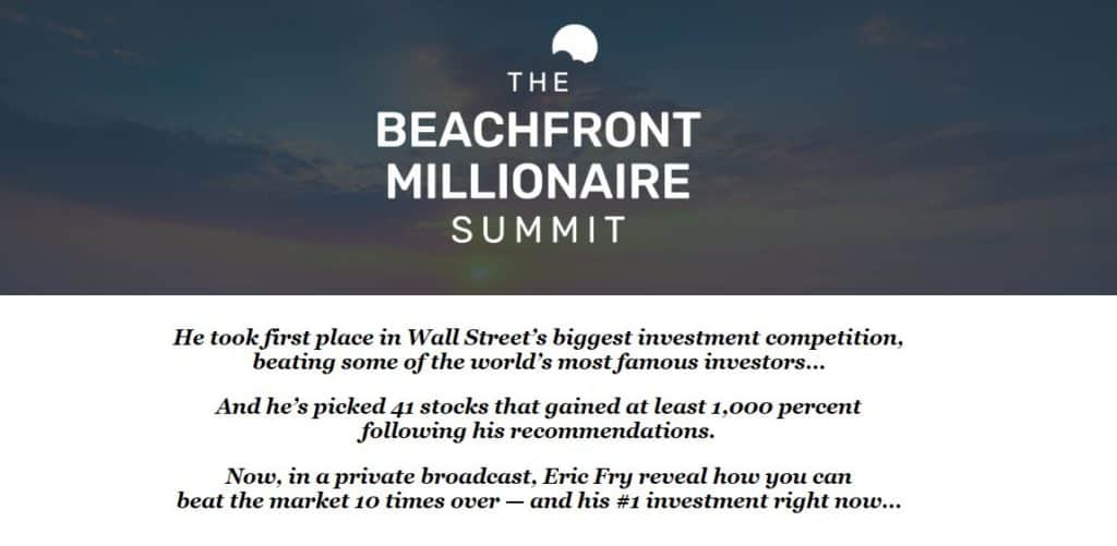 The Beachfront Millionaire Summit Review