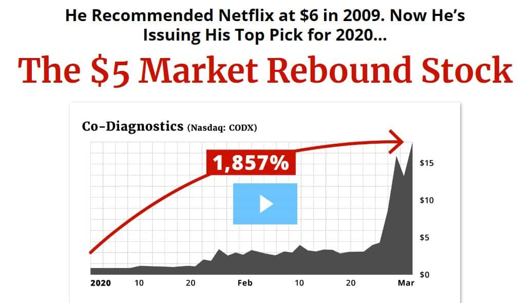 The $5 market rebound stock