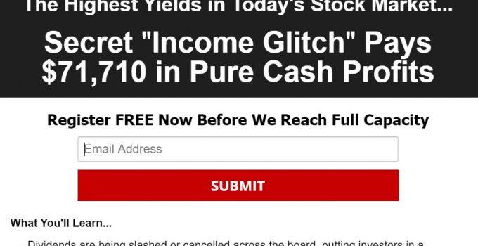 Stock Market Income Glitch