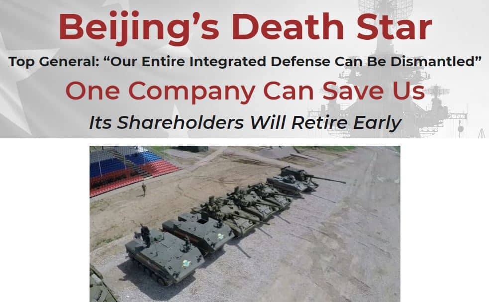 Beijing's Death Star