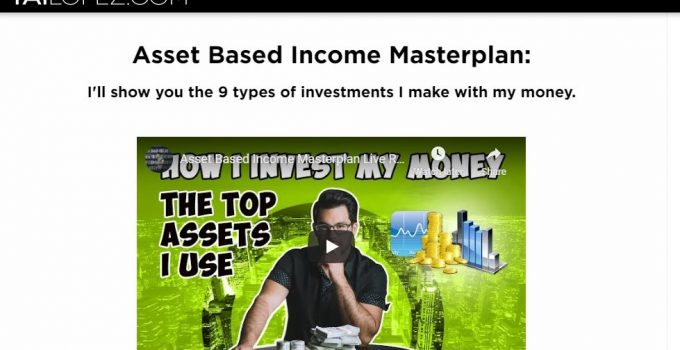 Tai Lopez Asset Based Income Masterplan