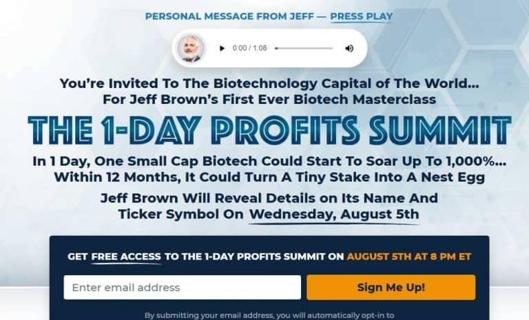 The 1-Day Profits Summit