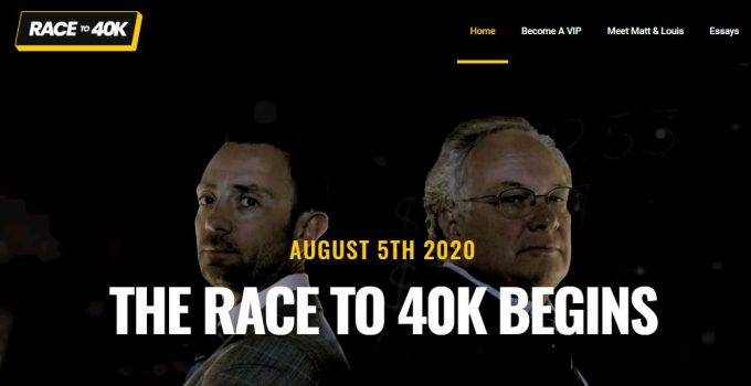 The Race To 40k