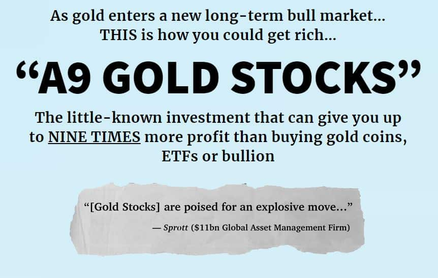 """Are """"A9 Gold Stocks"""" Legit? [Unbiased Review] 11"""