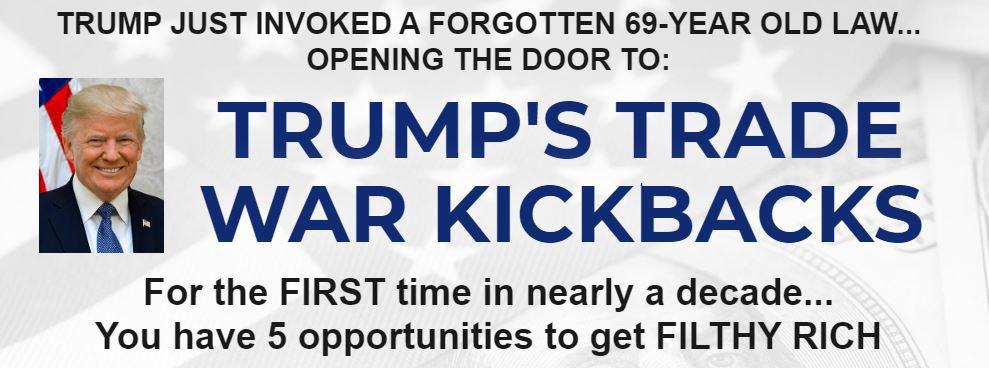 Trumps Trade War Kickbacks