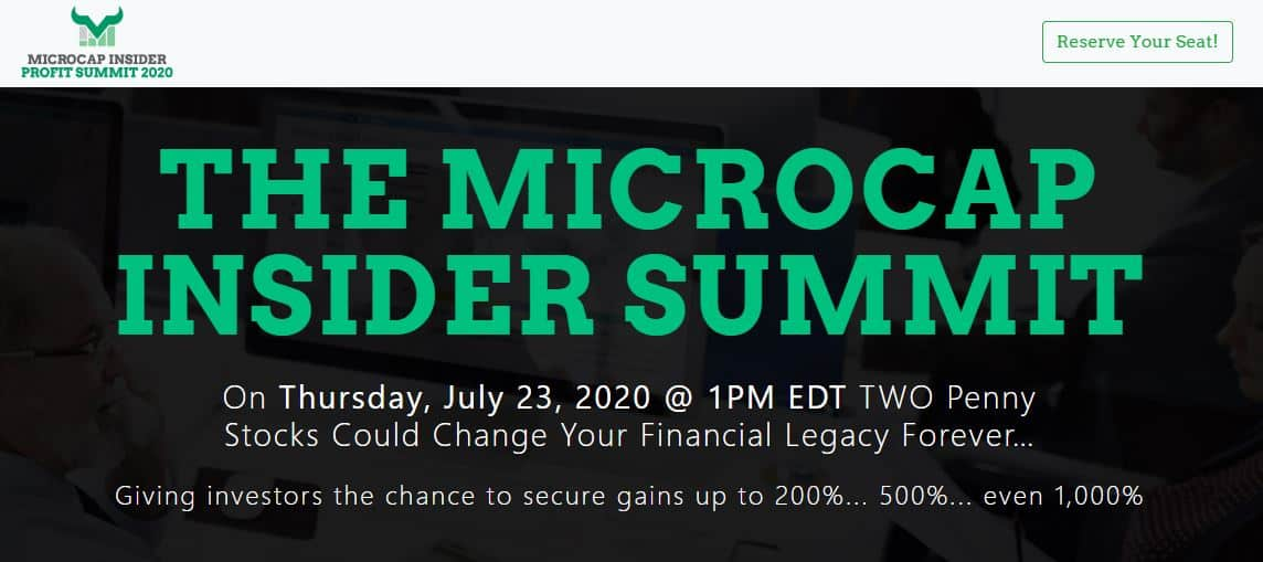 The Microcap Insider Summit